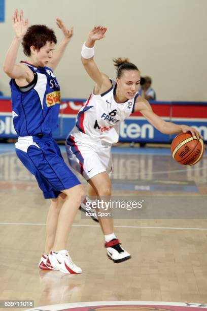 Celine DUMERC France / Serbie Championnat d'Europe de Basket Feminin 2007