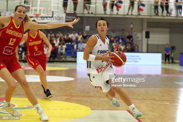 Celine Dumerc of France during the international women's Friendly Match between France and Montenegro on June 2 2017 in Bordeaux France