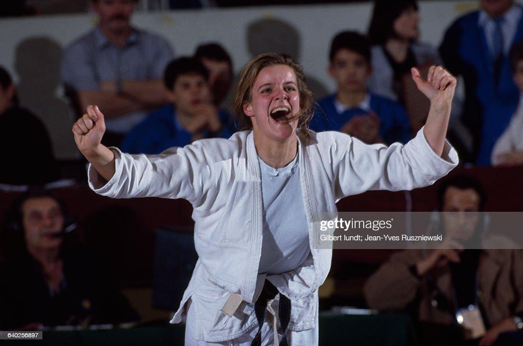 celine geraud judo Giorgio Armani