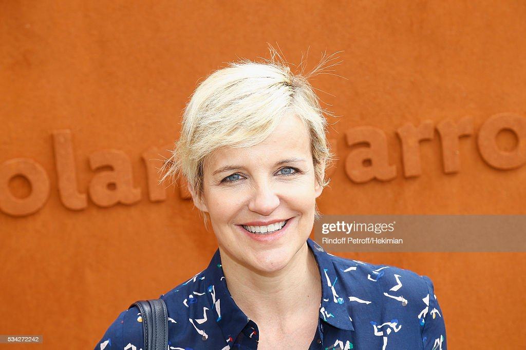 Celine Geraud attends day four of the French Tennis Open at Roland Garros on May 25, 2016 in Paris, France.