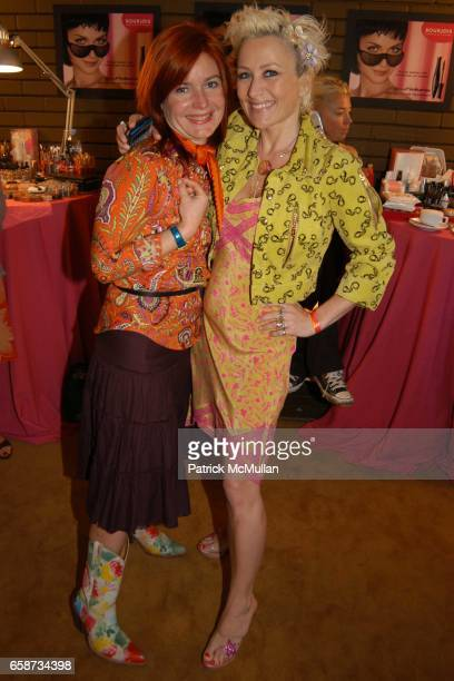 Celine Kaplan and Charlie Green attend the Boudoir Oscar Suite Sponsored by Mario Badescu Vidal Sassoon and Creative Mail Design at the Chateau...