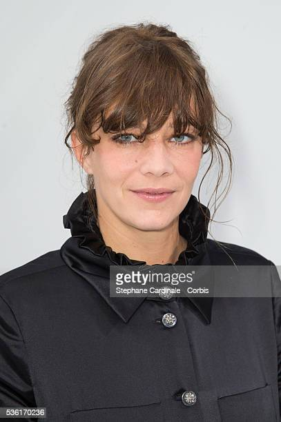 Celine Salette attends the Chanel show as part of the Paris Fashion Week Womenswear Spring/Summer 2016 on October 6 2015 in Paris France