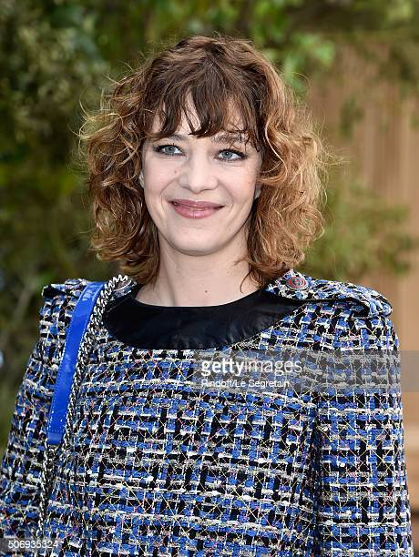 Celine Salette attends the Chanel Spring Summer 2016 show as part of Paris Fashion Week on January 26 2016 in Paris France