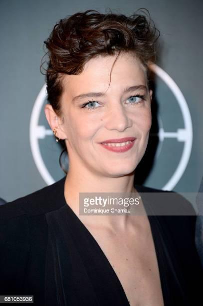 Celine Salette attends the 'HHHH' Paris Premiere at Cinema UGC Normandie on May 9 2017 in Paris France