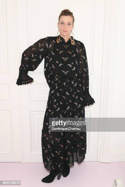Celine Salette attends the 'Signature' Chloe's Fragance Anniversary Party as part of the Paris Fashion Week Womenswear Spring/Summer 2018 on...