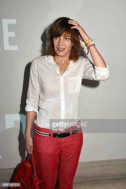Celine Salette attends Zadig Voltaire New Perfume Launch Launch Party at 51 Avenue Iena on June 9 2016 in Paris France