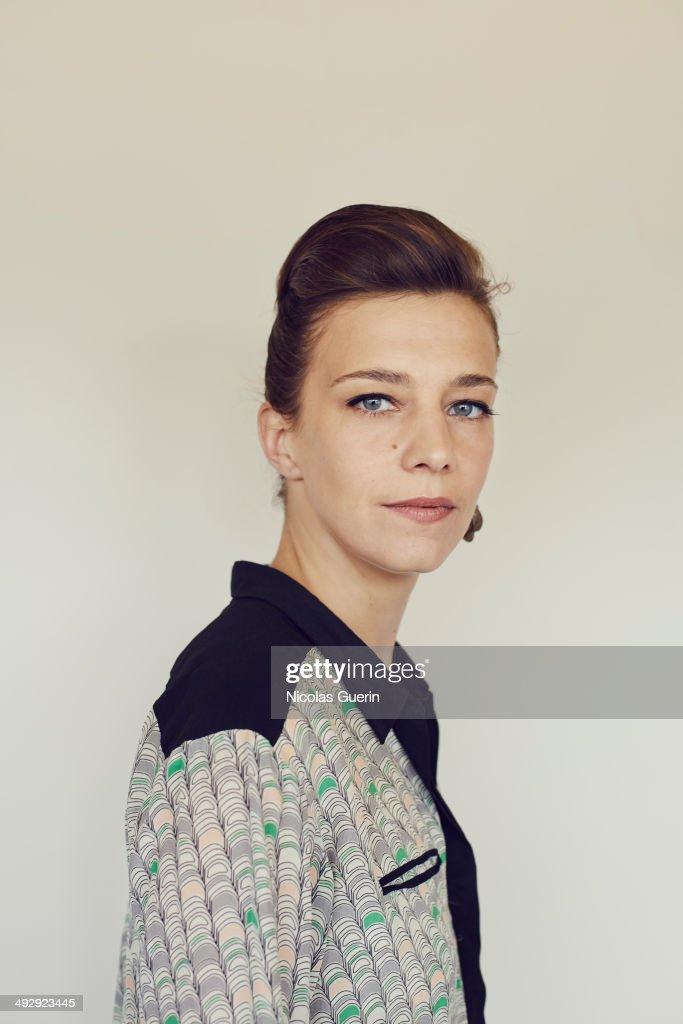 Celine Salette poses during the 'Geronimo' portrait session at the 67th Annual Cannes Film Festival on May 19, 2014 in Cannes, France.