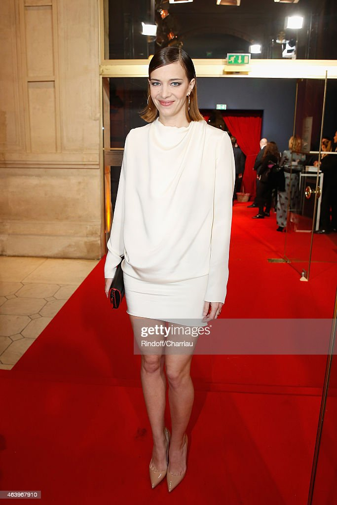 Celine Sallette arrives at the 40th Cesar Film Awards 2015 Cocktail at Theatre du Chatelet on February 20, 2015 in Paris, France.