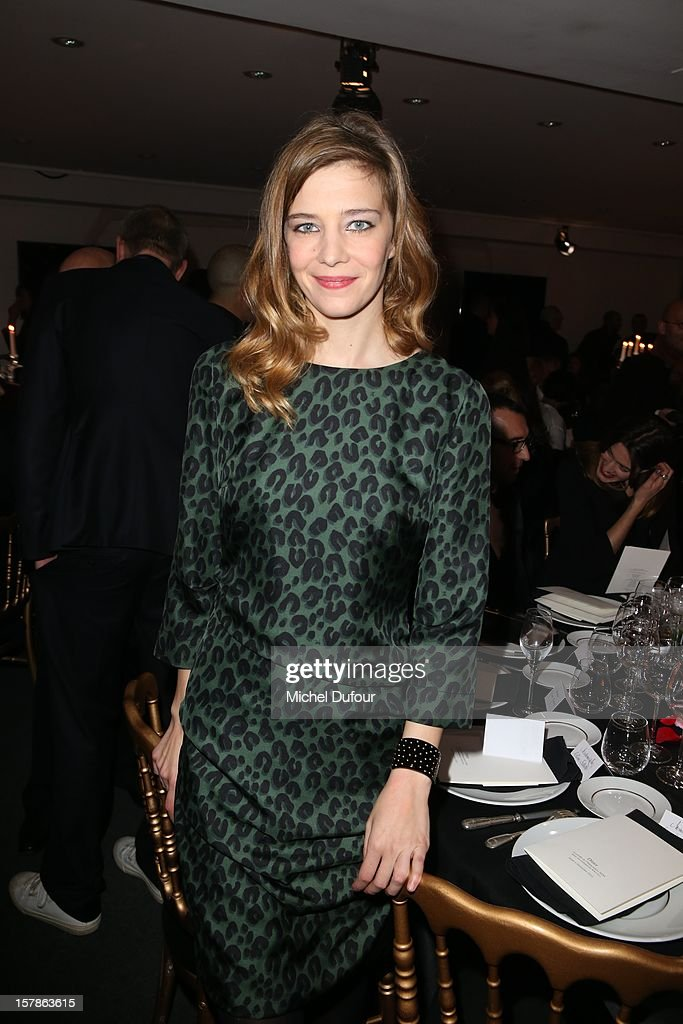 Celine Sallette attends the Babeth Djian Hosts Dinner For Rwanda To The Benefit Of A.E.M. on December 6, 2012 in Paris, France.