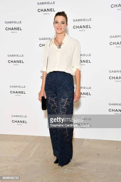 Celine Sallette attends the launch party for Chanel's new perfume 'Gabrielle' as part of Paris Fashion Week on July 4 2017 in Paris France