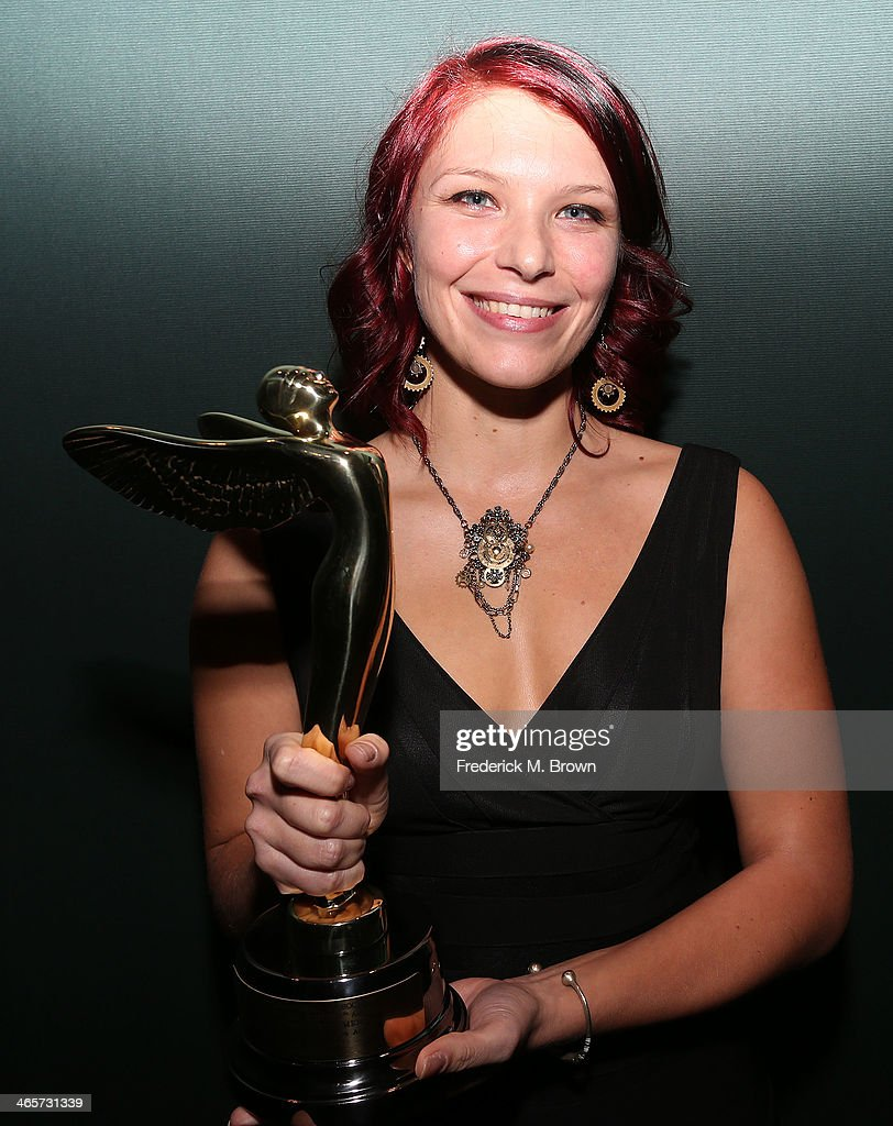 Celine Tricart is being honored during the 2014 International 3D and Advanced Imaging Society's Creative Arts Awards at the Steven J. Ross Theatre, Warner Bros. Studios on January 28, 2014 in Burbank, California.