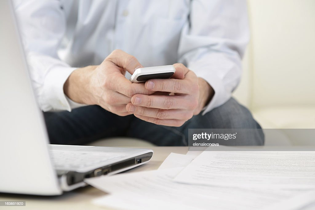 cell phone : Stock Photo