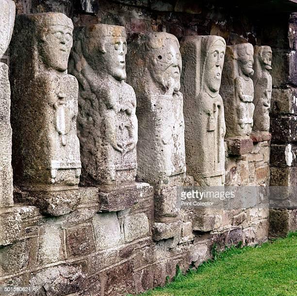 Celtic Christian figures White Island CoFermanagh Ireland c8th century