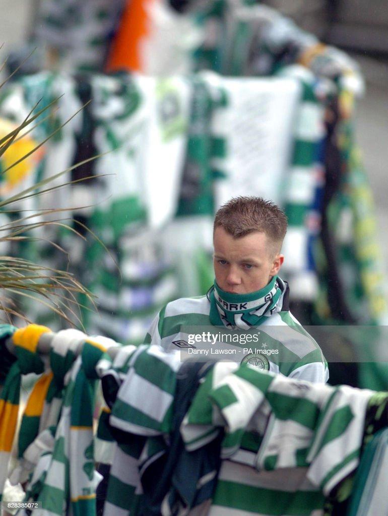 Jimmy Johnstone Tribute at Celtic Park Glasgow