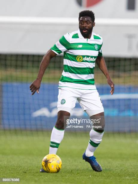 Celtic Kolo Toure during the Ladbrokes Scottish Premiership match at Firhll Stadium Glasgow