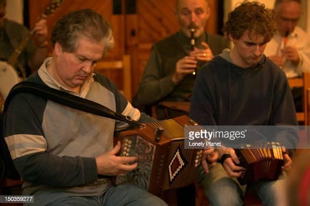 Celtic music at Ceili social event at Comhaltas Ceoltiri.