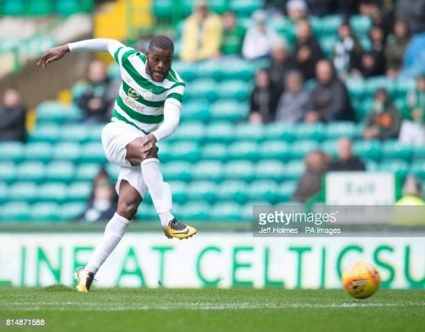 Celtic' Olivier Ntcham during the preseason match at Celtic Park Glasgow