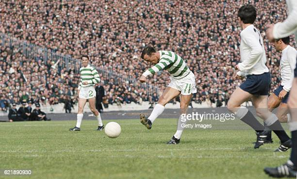 Celtic player Bobby Lennox in action during a pre season friendly between European Cup Winners Celtic and Tottenham Hotspur at Hampden on August 5...
