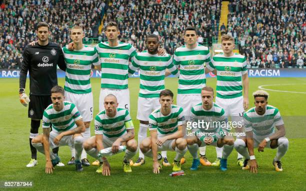 Celtic team group goalkeeper Craig Gordon Jozo Simunovic Nir Bitton Jules Olivier Ntcham Tom Rogic James Forrest Mikael Lustig Scott Brown Kieran...
