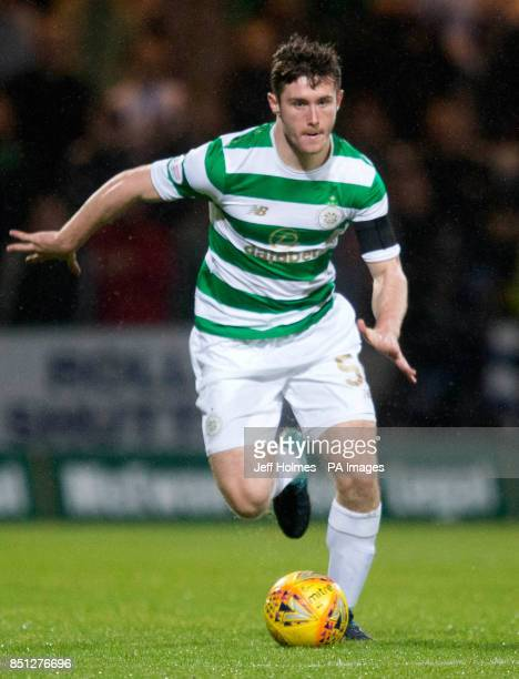 Celtic's Anthony Ralston during the Betfred Cup Quarter Final match at Dens Park Dundee