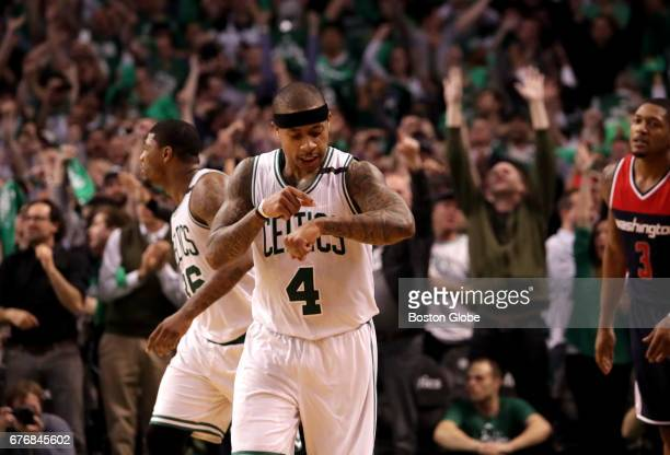 Celtics fans and Boston Celtics guard Isaiah Thomas know it was Isaiah time after Thomas put the final nail in the coffin with a short jumper to give...