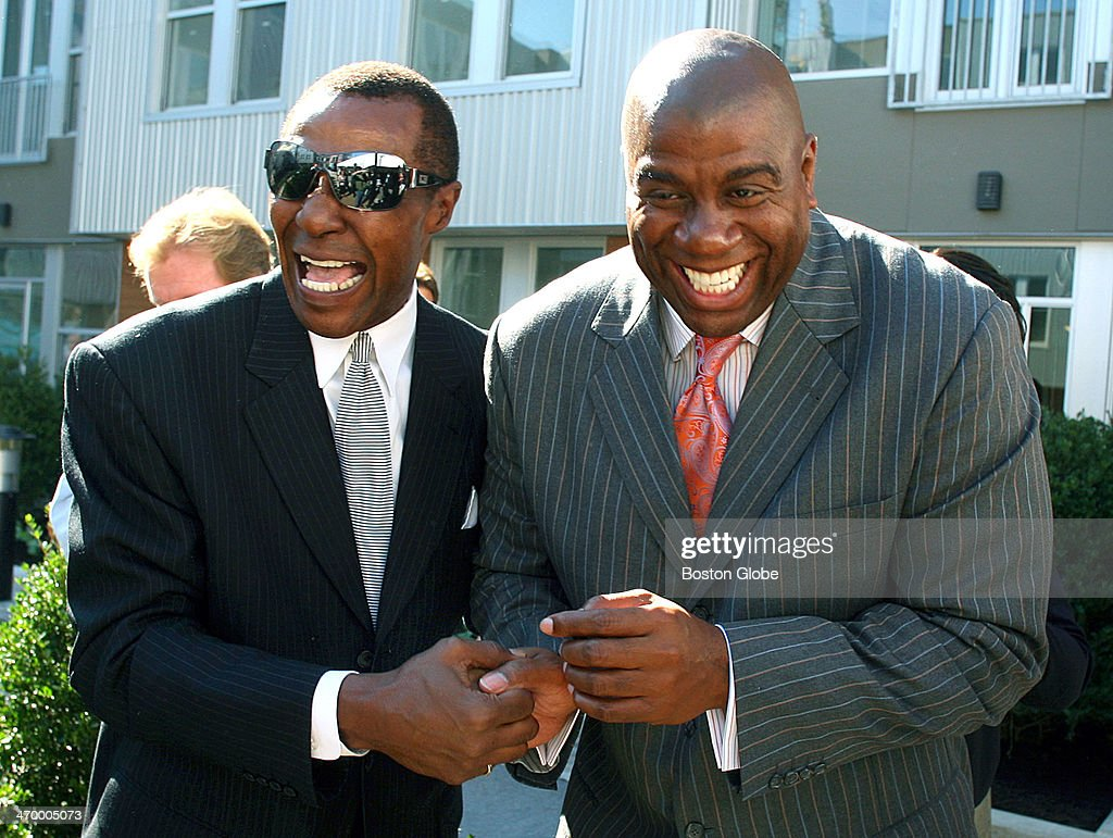 Jo Jo White And Magic Johnson