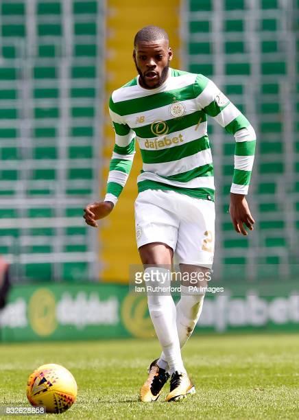 Celtic's Olivier Ntcham during the Ladbrokes Scottish Premiership match at Celtic Park Glasgow