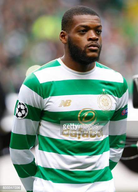 Celtic's Olivier Ntcham during the UEFA Champions League PlayOff First Leg match at Celtic's Park Glasgow PRESS ASSOCIATION Photo Picture date...