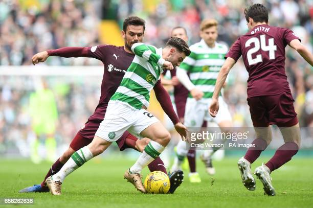 Celtic's Patrick Roberts in action during the Ladbrokes Scottish Premiership match at Celtic Park Glasgow