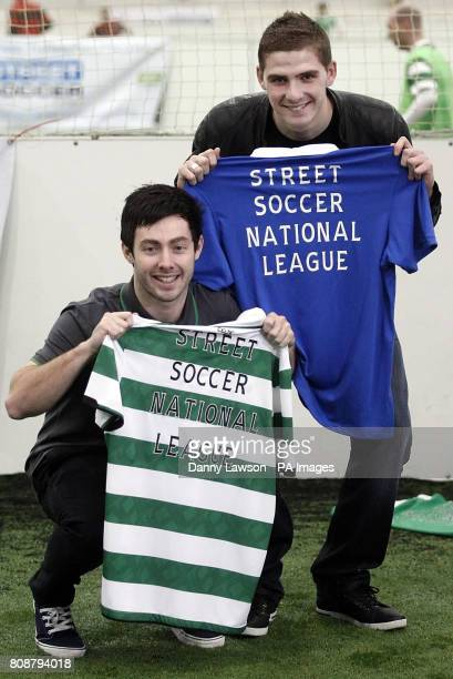Celtic's Richie Towell and Rangers' Kyle Hutton launch a national football league aimed at engaging socially disadvantaged adults and young people...