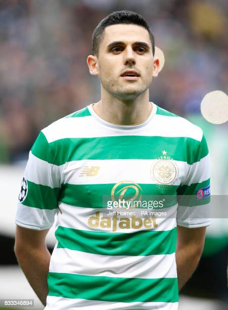 Celtic's Tom Rogic during the UEFA Champions League PlayOff First Leg match at Celtic's Park Glasgow PRESS ASSOCIATION Photo Picture date Wednesday...