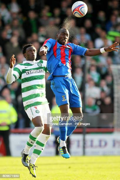 Celtic's Victor Wanyama and Inverness' Gregory Tade