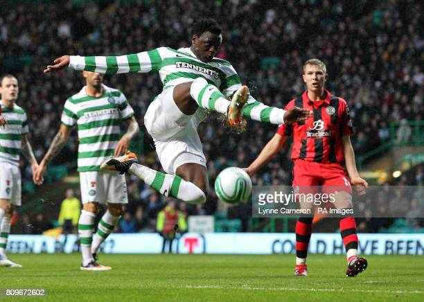 Celtic's Victor Wanyama during the Clydesdale Bank Scottish Premeir League match at Celtic Park Glagsow