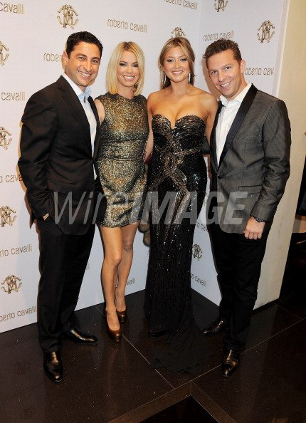 Cem Habib Caroline Stanbury Holly Valance And Nick Candy Attend