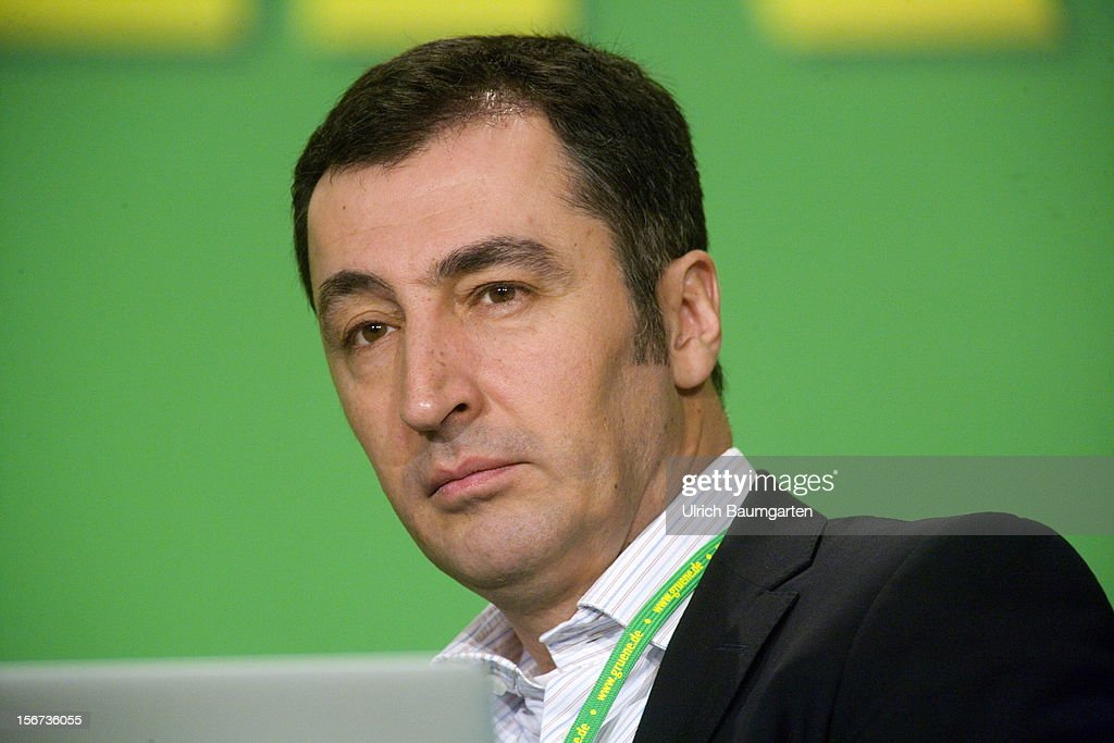 Cem Oezdemir, Chairman of German Greens Party (Buendnis 90/Die Gruenen), during the Greens Party federal convention at Hannover Congress Centrum on November 16, 2012 in Hanover, Germany. Germany faces federal elections in 2013 and the Greens Party, which is Germany's third most popular party, could well become a government coalition partner.