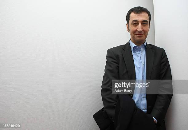 Cem Oezdemir cochairman of the German political party Alliance '90/The Greens poses during a meeting with members of the German foreign press...