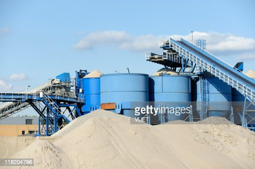 Cement factory in the Netherlands