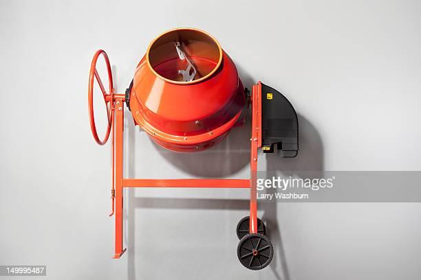 A cement mixer
