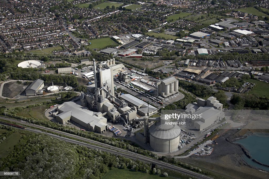Idaho Cement Plants : Cement plant factory in rugby england stock photo getty