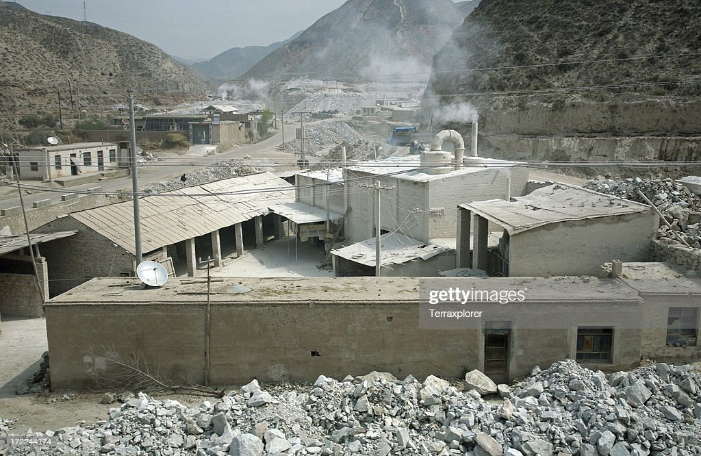 Idaho Cement Plants : Cement plant stock photo getty images