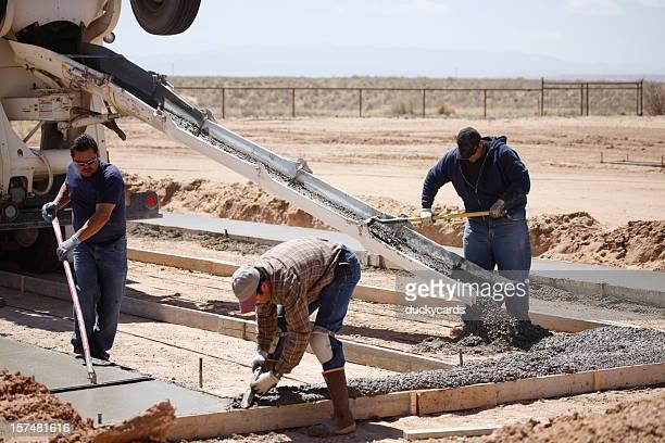Ciment travailleurs