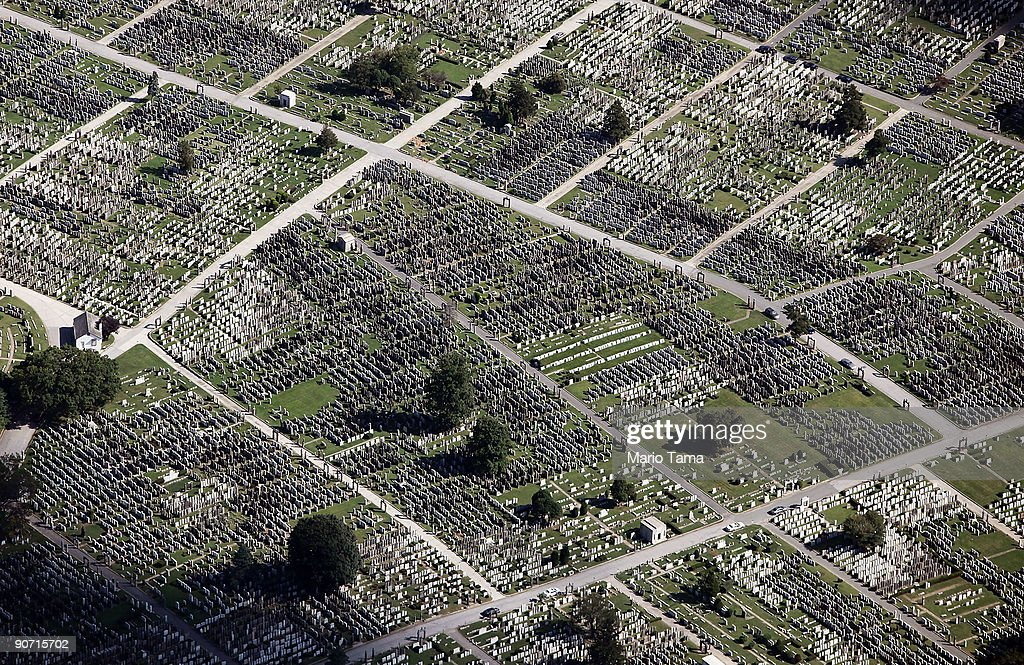 A cemetery is seen September 13, 2009 in the Queens borough of New York City.
