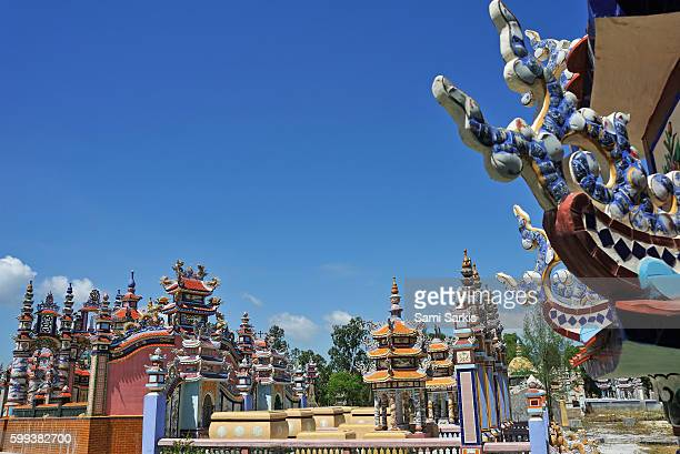 Cemetery of An Bang village in the suburbs of Hue city, Vietnam, Southeast Asia