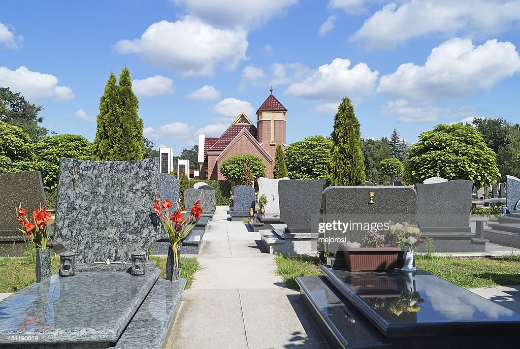 Friedhof : Stock-Foto