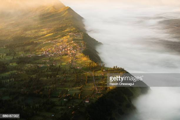 Cemoro Lawang, the village on the edge