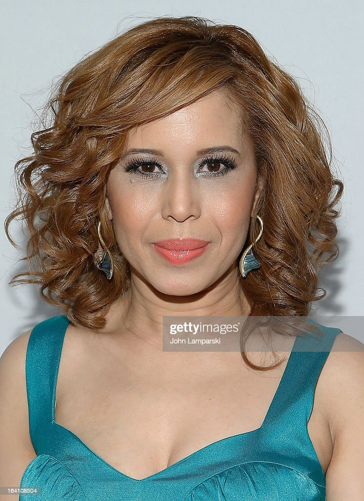 Cenia Paredes attend 'Skirts Only' Fashion Show at 404 NYC on March 19, 2013 in New York City.