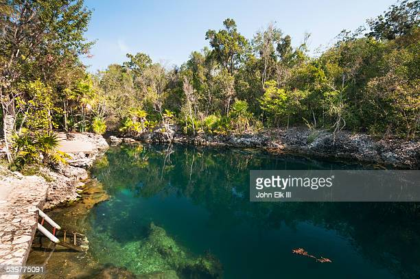 Cenote at Bay of Pigs