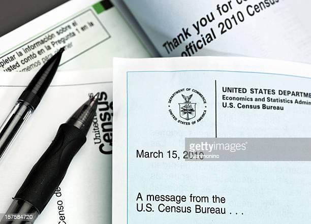 US 2010 Census Paperwork