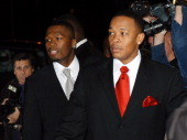 50 Cent and Dr Dre during The Shady National Convention Eminem Launches New Sirius Radio Channel 'Shade 45' at Roseland Ballroom in New York City New...