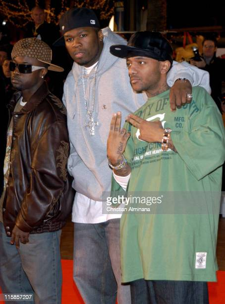50 Cent and guests during 7th Annual NRJ Music Awards Arrivals at Palais des Festivals in Cannes France